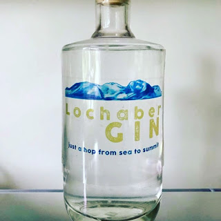 Lady of the hills, created for Lochaber gin by Lucy Joy artist