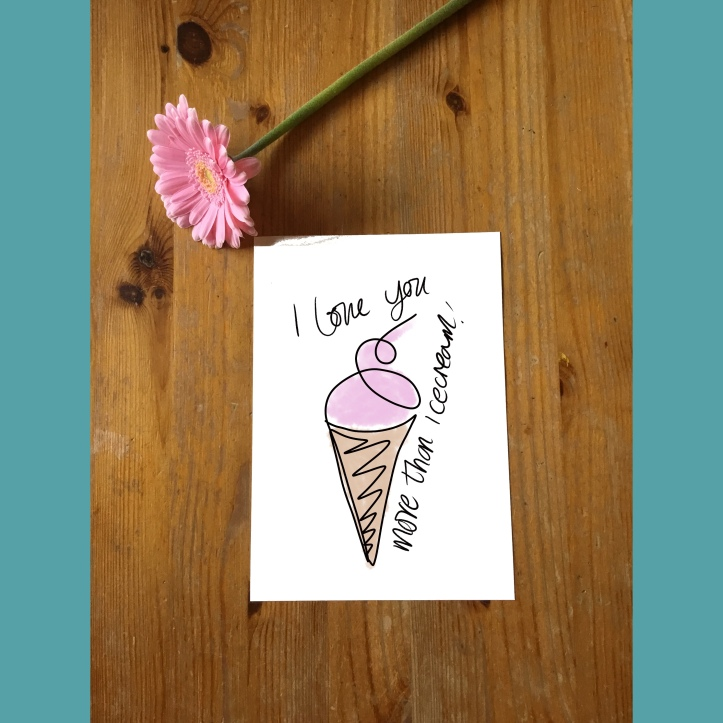 Lucy Joy mindful christian artist - 0nleine - i love you more than ice cream