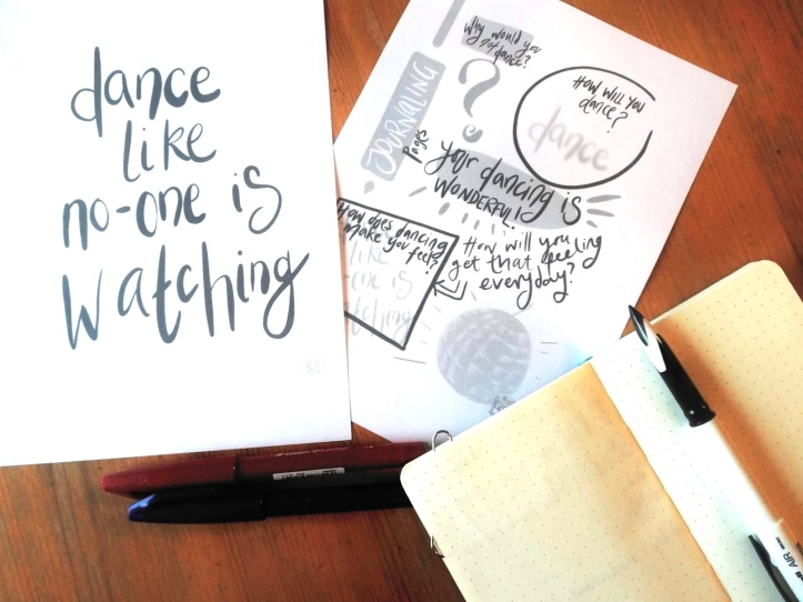 Art prints and journaling pages by mindful Artist Lucy Joy