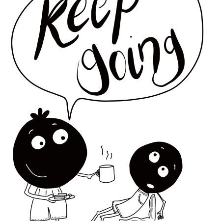 Keep going - be inspired by the inner voice collection