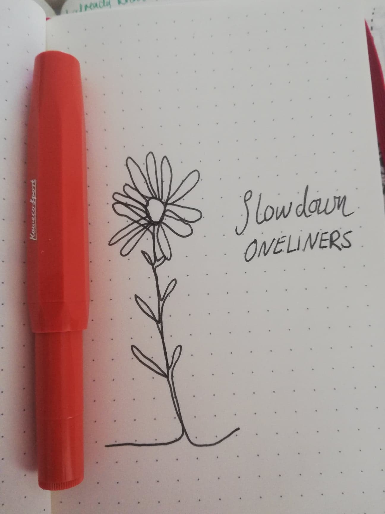 Slowdown Oneliners creating mindfully everyday