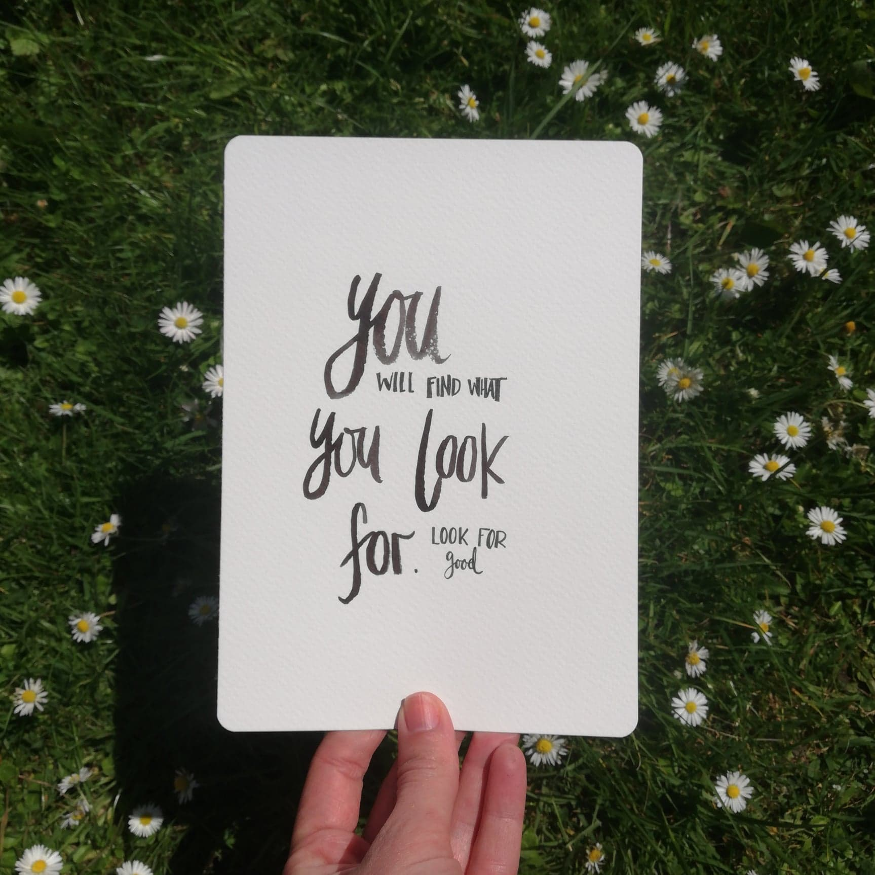 Seeking joy and harness your thoughts - lucy joy