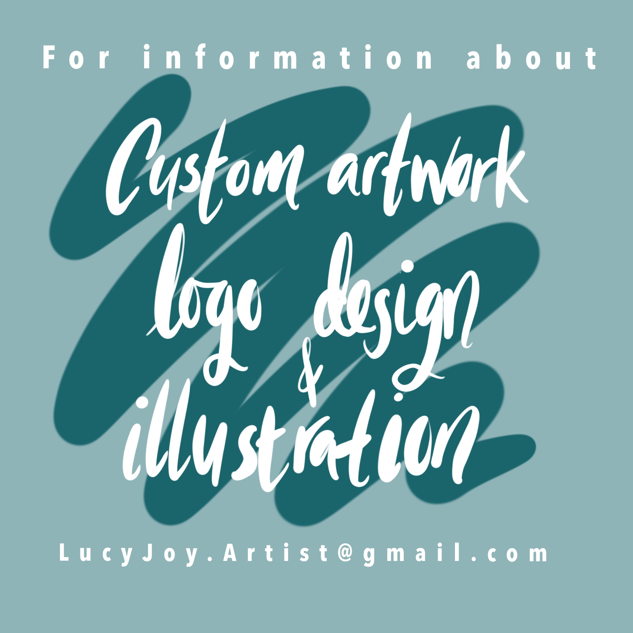 Lucy Joy Artist - logo design and custom artwork