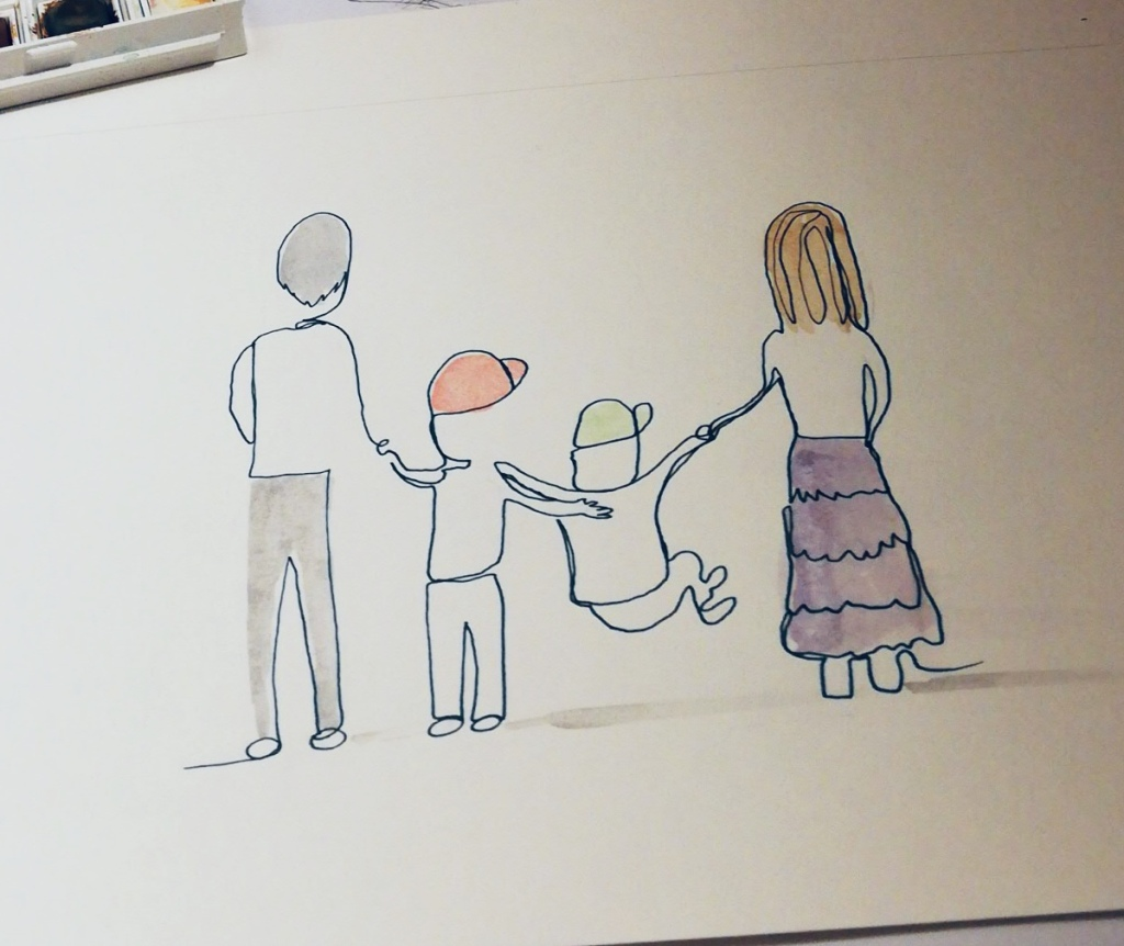 Personalised artwork by Lucy Joy