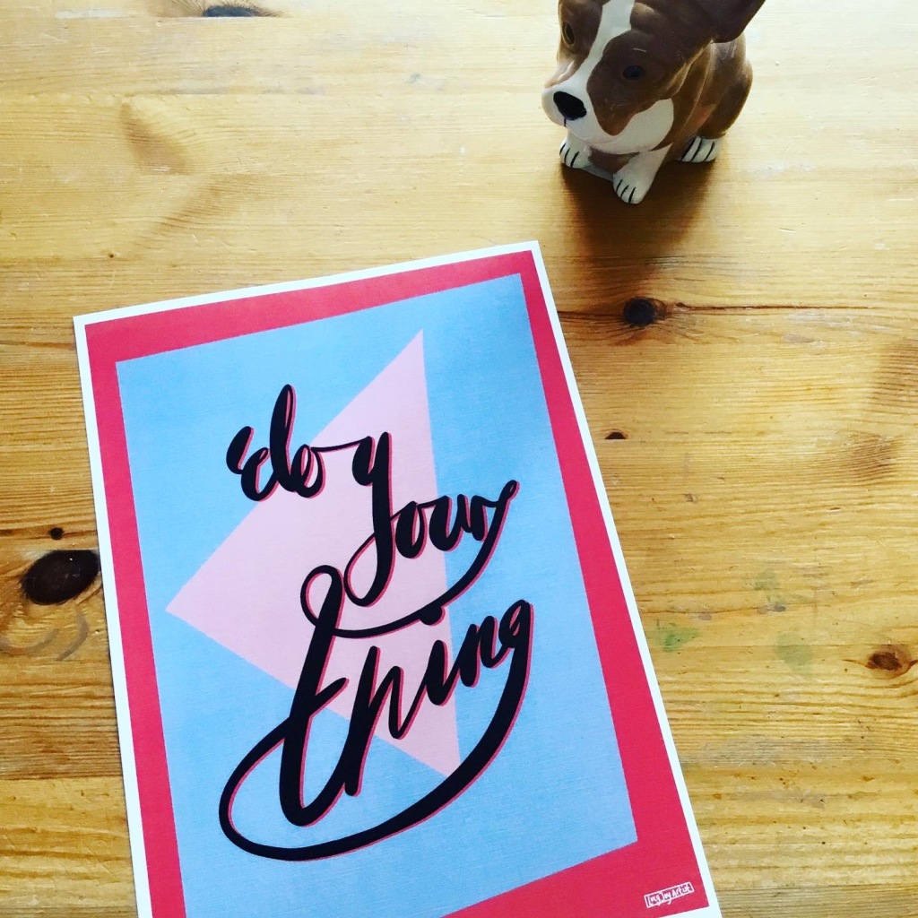Do your thing oneliner. Lucy joy artist - the joy filled cup