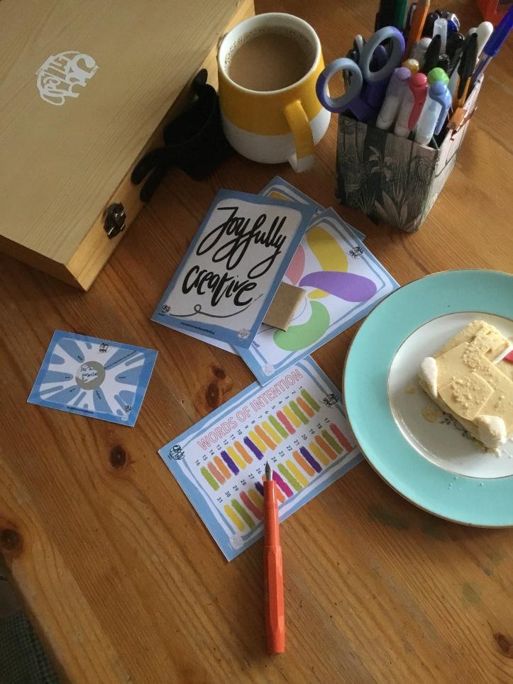Monthly joyfully creative kit